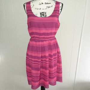 Attention Women's Sleeveless Striped Dress Size M